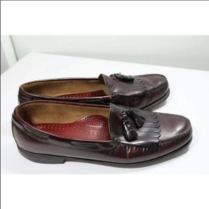 Bass Weejun Burgundy Men's Loafer 12B